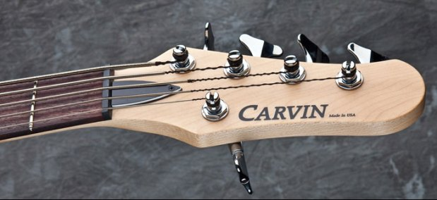 Carvin PB5 bass headstock