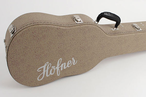 Höfner Introduces H64/VB-R Tweed-Style Violin Bass Case