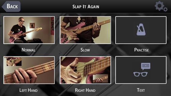 Beginning Slap Bass with MarloweDK screen example 1