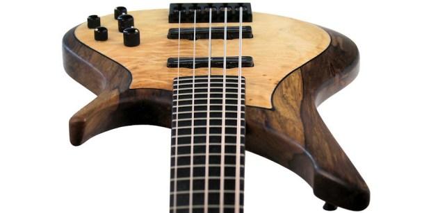 Manne Guitars Kayenta 5-string bass perspective