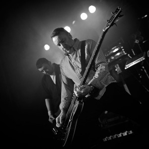 Peter Hook performing
