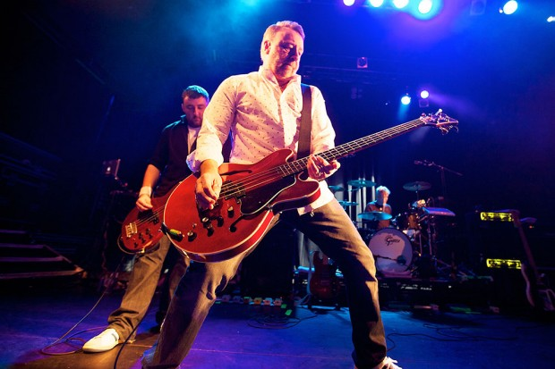 Peter Hook with son Jack