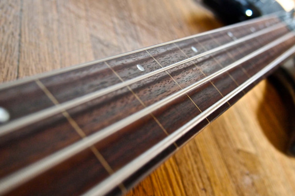 Lines on a Fretless Bass: Is it Cheating?