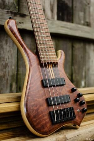 """Adam """"Nolly"""" Getgood's G-Spot Basses Temptress Bass body"""