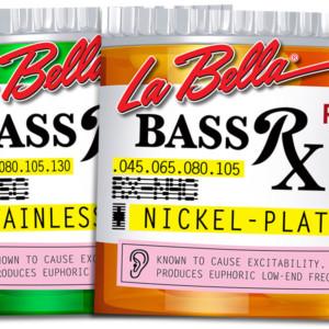 La Bella Announces RX Series Bass Strings