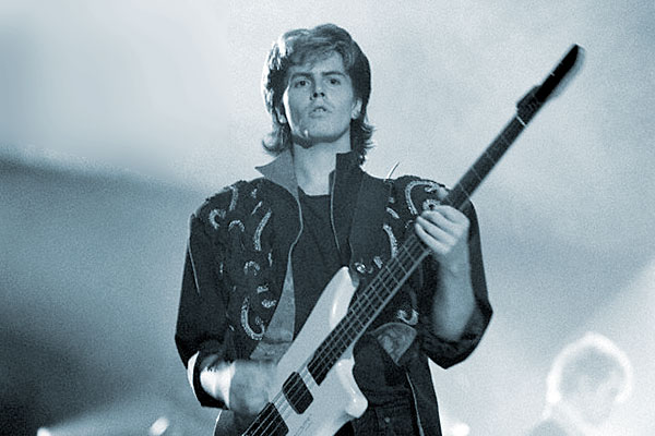 """Duran Duran's """"Hungry Like the Wolf"""": John Taylor's Isolated"""