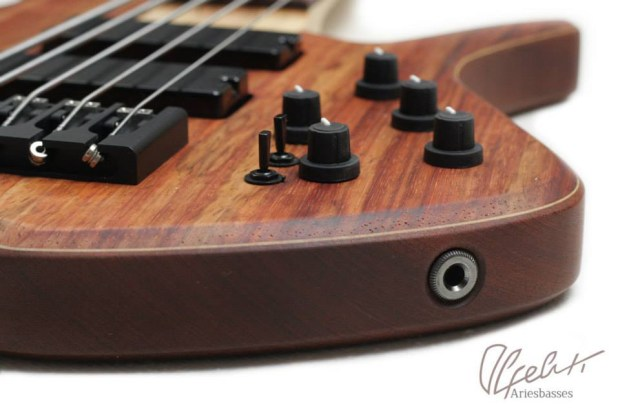 Aries Basses Alpeluti Bass - controls