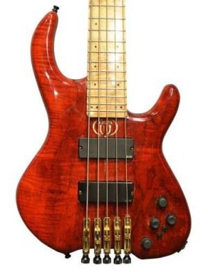 Bunker Guitars NY Charlie Bass body
