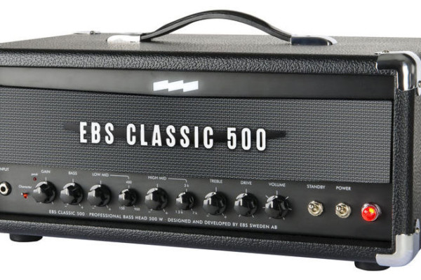 EBS Announces Classic 500 Bass Amplifier