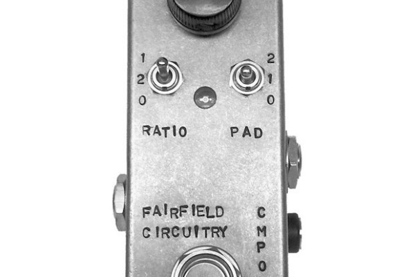 Fairfield Circuitry Announces The Accountant Compressor Pedal