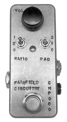 Fairfield Circuitry: The Accountant Compressor Pedal