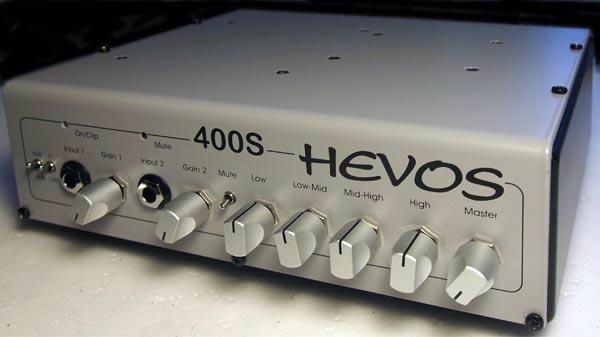 Hevos Announces 400S Compact Bass Amplifier