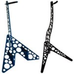 Metalin' Guitars Introduces New Aluminum Instrument Stands