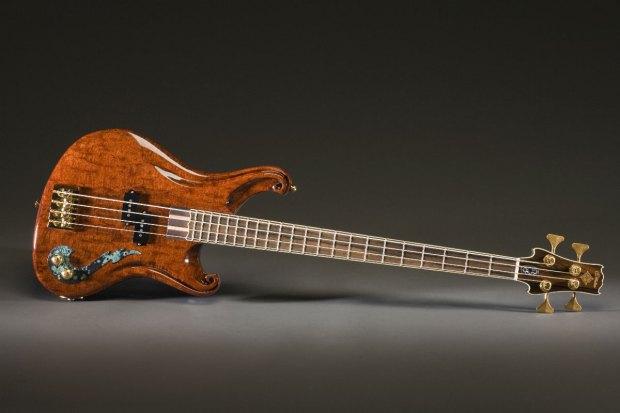 Scott Walker California P-Bass - brown