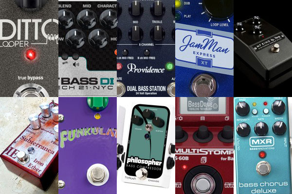 Best of 2013: The Top 10 Reader Favorite Bass Pedals & Effects