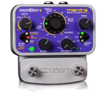Source Audio Introduces Manta Bass Filter
