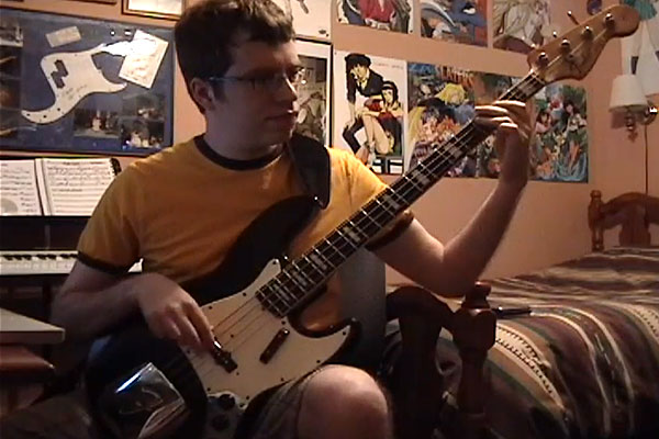 """Blake Branch: """"For Once In My Life"""" Bass Line"""