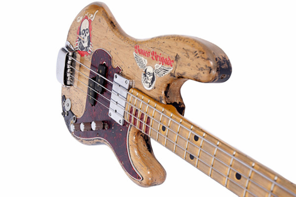 "Bass of the Week: Jon Willis' Billy Sheehan ""Wife"" Bass Replica"