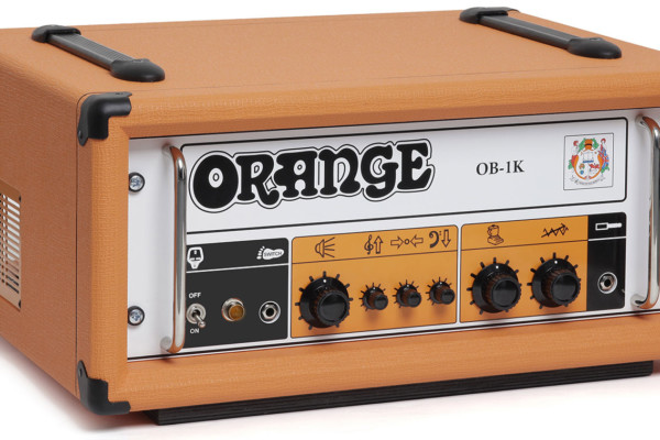Orange Amplification Announces OB-1K Bass Amplifier