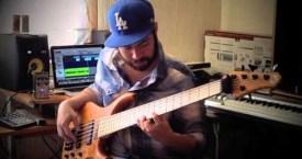 "Manuel Jiménez Gastélum: ""Fine China"" Bass Cover"