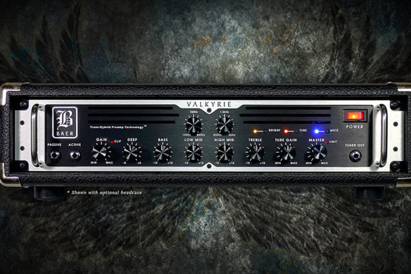 Baer Amplification's New Valkyrie Bass Amp Now Available