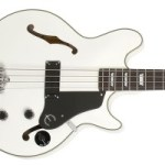 Epiphone Announces Limited Edition Jack Casady Signature Bass in Alpine White