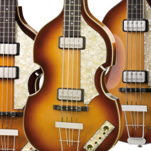 "Höfner Renames ""Beatle Bass"" Reissue Line of Basses"