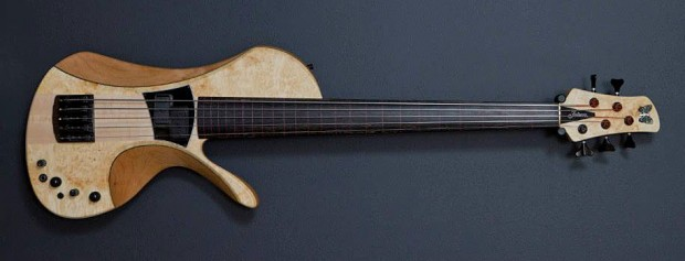 Fodera Victor Wooten Bow Bass Prototype - First Edition