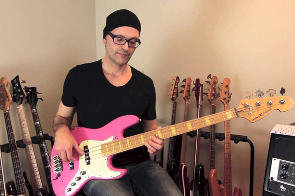 Lesson: Blues Bass Lick Using a Minor Pentatonic