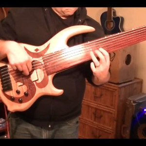 Jason Everett: Indian Vocal Melody on 7-String Fretless Bass