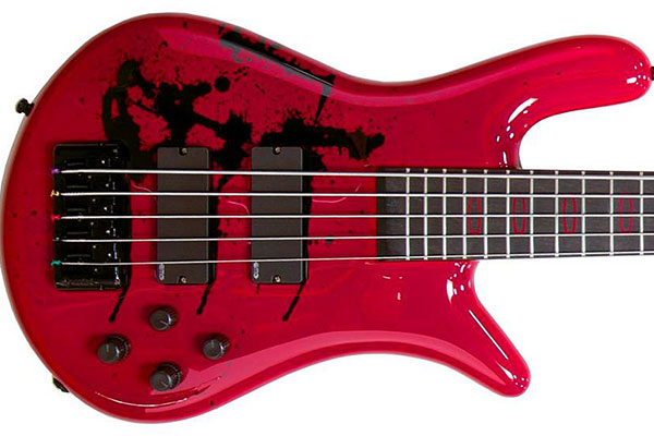 "Spector Releases Limited Edition Alex Webster ""Zombie Drip"" Euro5LX Bass"