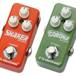 TC Electronic Announce Four New Mini Pedals