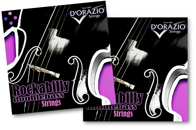 d orazio strings introduces rockabilly ropecore chrome steel upright bass strings no treble. Black Bedroom Furniture Sets. Home Design Ideas