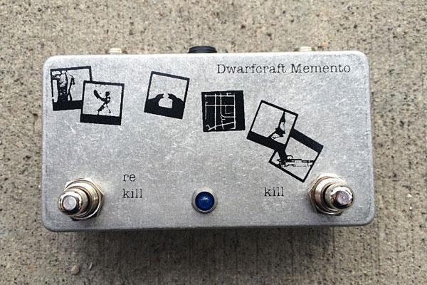 Dwarfcraft Unveils Memento Kill Switch Pedal