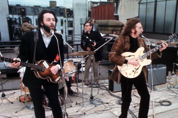 "The Beatles: ""Don't Let Me Down"" Rooftop Performance"
