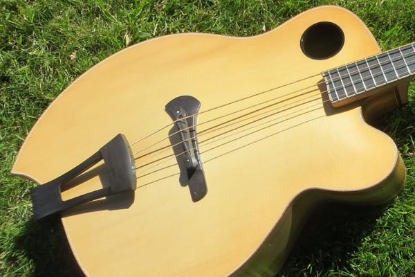 "Bass of the Week: Jack Casady's Ribbecke Guitars ""Diana"" Bass"
