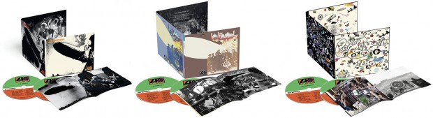 Led Zeppelin Reissues: I, II and III