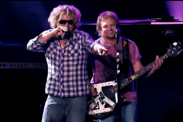 "Chickenfoot: ""Soap on a Rope"", Live"