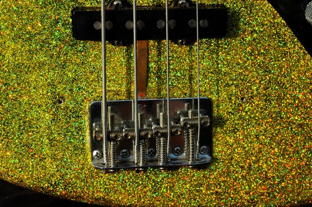 James Colby Homemade Glitzy Bass: Bridge