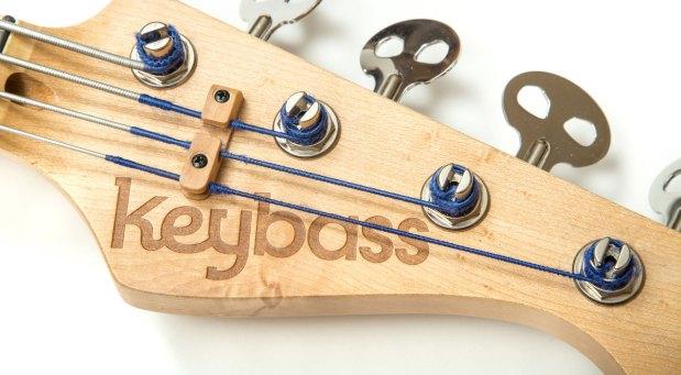 KeyBass 3.0 - Headstock Closeup