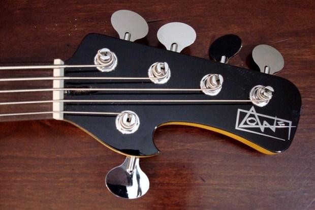 Lowe Custom Guitars Chromasonic 5-String Bass - headstock