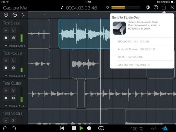 Presonus Capture for iPad