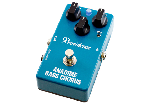 Providence, LTD Announces Anadime Bass Chorus Pedal