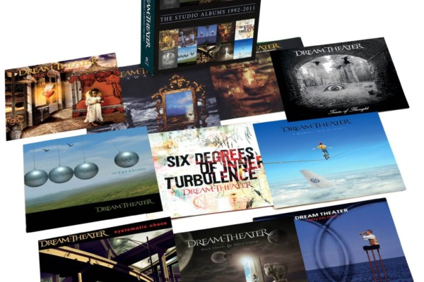Dream Theater Releases Studio Album Box Set