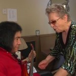Carol Kaye Gives Gene Simmons a Bass Lesson