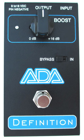 ADA Amps Definition Preamp