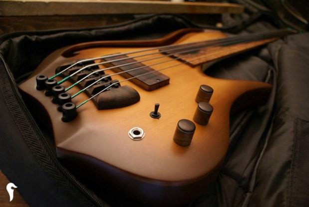 Aries Aman II Bass - in case