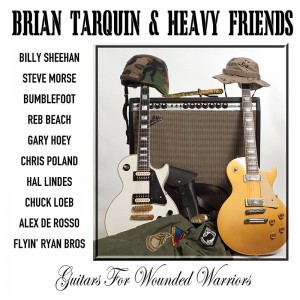 Brian Tarquin and Heavy Friends: Guitars for Wounded Warriors