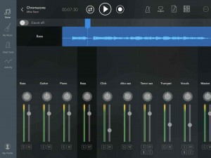 Ultimate Play Alongs App - full mixer