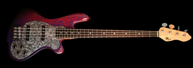 M-Tone Guitars Boki Bass